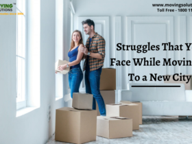 Struggles That You Face While Moving In To a New City